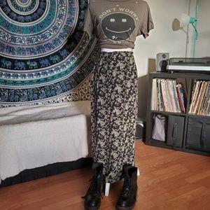 GAP 90's Grunge Maxi Skirt